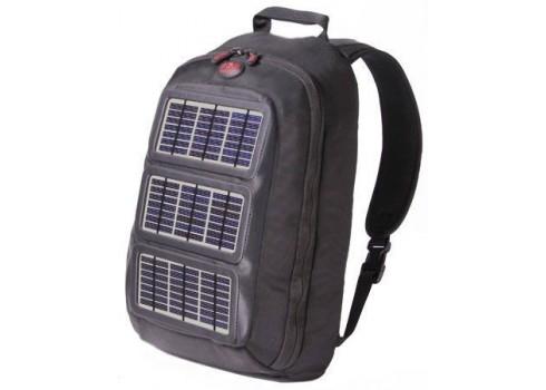 efd5e18762 Zaino solare con pannello integrato per ricaricare dispositivi ...